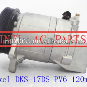 Um dks17d/c compressor de montagem para nissan maxima nissan murano nissan altima dks-17ds con air 506012-1770 506211-9660