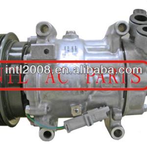 Sanden 6v12 sd6v12 compressor de ar condicionado para nissan qashqai renault 27630-00qap 27630- 00q0d 8200220924 27630- 00q1m