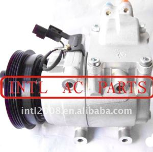 Auto compressor halla- hcc hs-15 compressor de ar condicionado um/compressor ac para elantra hyundai matrix 97701- 2d000 97701- 2c000