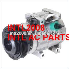 Hcc hs-20 auto ar condicionado uma/c compressor para a comitiva hyundai kia sedona 97701- 4d901 97701- 4d900 97802-1700 976263e930