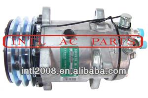 ar ac ac compressor sanden assy 510 5h16 sd5h16 sd510 9103 132mm 2a flare agco caso caterpillar john deere e massey ferguson