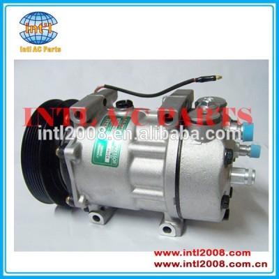 Auto ar condicionado compressor sanden 7h15 sd7h15 para saab 9000 l4 2.3l 94-98 4319240 sanden 7943