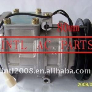 Ar condicionado bomba doowon 10pa17c um/c compressor ac para hyundai county 99250- 5a521 992505a521