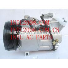 Valeo dcs-17ec con air compressor ac para renault laguna iii 2.0 2l 2007- grandtour 8200909753 8200720780 z0003233 506041-0940