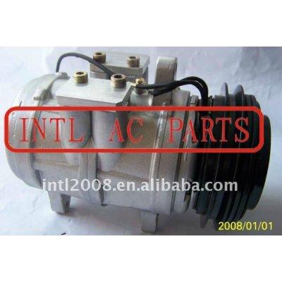 Auto ar condicionado comp denso 6e171 um/c ac compressor para a john deere windrowers trator john deere ty6766 ty6626 047100-8530