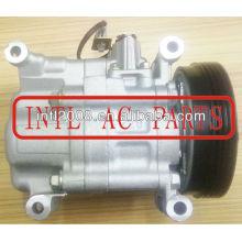 Compressor de ar condicionado para suzuki swift 95201- 63ja1 95201- 63ja0 v08a1aa4ag d4302917 9520163ja1 9520163ja0