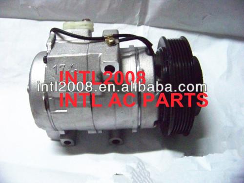 Denso 10S17C ar condicionado ac compressor para MAZDA MPV V6 3.0L 2.5L LC70-61-450A 447220-3492 447220-3493