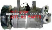 Zexel dks17ch compressor de ar condicionado para nissan patrol gr pathfinder terrano 92600-vc900 92600-vb800 506211-7460 3b05045010