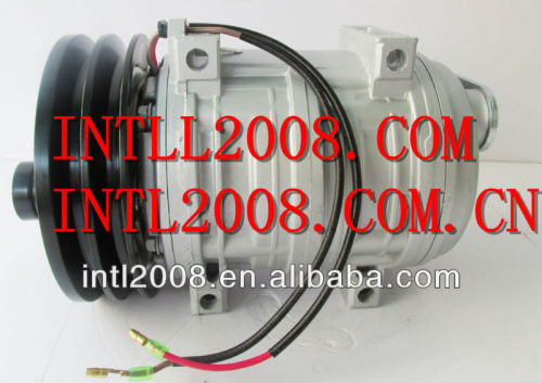 Ar condicionado compressor ac montagem seltec/tama/valeo/diesel kiki- tm-21 tm21hd 2pk 103-57240 10357240 488-47240 48847240