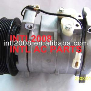 Denso 10s17c ar condicionado uma/compressor c w/embreagem para honda accord l4 2.4l 03-07 4711538 04 05 06