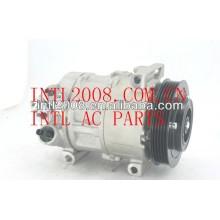 Denso 5se12c compressor ac para fiat grande punto, bravo, linea 1.4 alfa romeo mito da lancia dekta 447190-9701 5d3375500 51794515