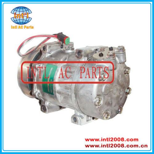 1888033 1853081 8290 sanden ye cabeçote 6023 sanden 7h15 sd7h15 auto compressor da ca para a tração scania p/g/r/t