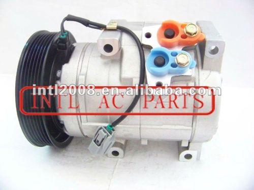 Denso 10s20c compressor de ar condicionado para o piloto honda accord odyssey ridgeline acura mdx tl 38810-rdj-a01 447260-8190