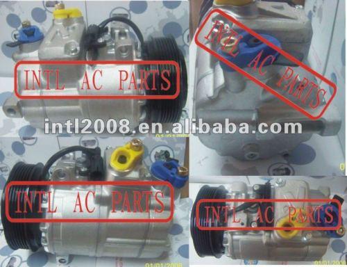 Denso 7sbu16c carro compressor de ar condicionado para land rover freelander jpb500130 jpb000040 jpb000040a jpb101154 447300-8230