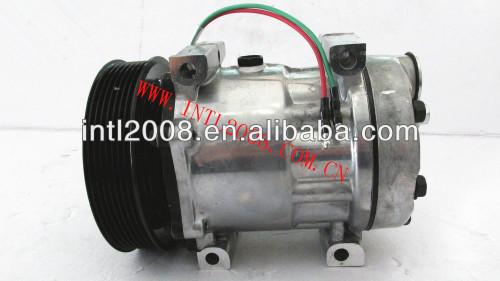 sanden sd 7h15 ac compressor de ar condicionado para daf xf105 cf85 caminhões daf 1815581 1685170 8807691a 1864126 sanden 8231