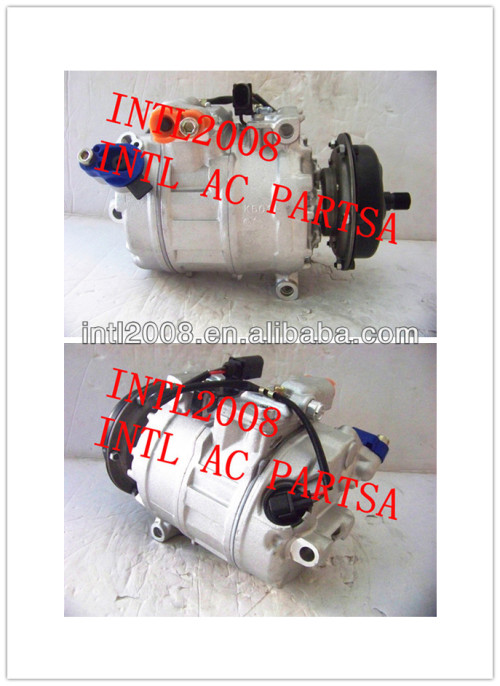 7h0820803c 3d0820805e 7seu16c compressor para a volkswagen touareg 05-08 v10 5.0l 7h0820805h 3d0820805q 7h0820805f 7h0820805e