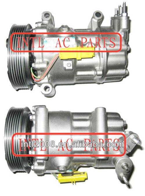 Sanden 6v12 sd6v12 mini cooper l4 1.6l 2007-2010 um novo/compressor ac mini cooper