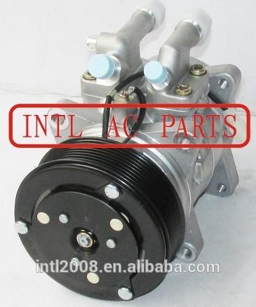 Trator cnh/caso/new holland/valtra t-180 auto ac compressor com válvula denso 10p15 10p15c 8 8pk ouvidos