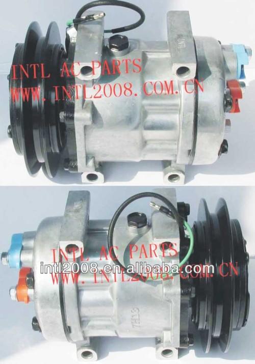 Sanden 7H13 SD7h13 7351 TDK-R151320S KHR3241 TDKR151320S TDKR151340S caso Serie Kobelco escavadeira AUTO AC compressor