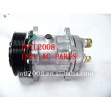 Ar condicionado auto Compressor Sanden 7H15 7834 SD7H15 Compressor de ar condicionado PV8 para VOLVO TRUCK FH12 FH16 AC Kompressor