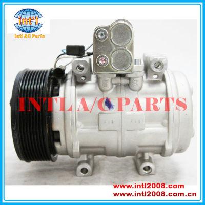 Denso 10p15/10p15c auto ar condicionado compressor ac para 6415 john deere trator 7500