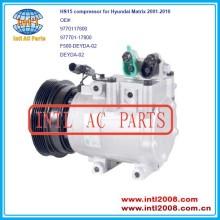 9770117800 977701-17800 f500- deyda- 02 f500deyda02 para halla- hcc hs-15 hs15 auto compressor da ca para hyundai matrix 2001-2010