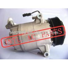 Um/c compressor cvc5 cvc para renault megane 2.0 dci( 07- 09) scenic 1140548 01140548 1140731 1140090 8200669284 8200855146