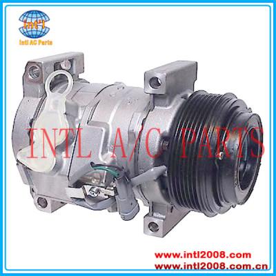 Denso 10s17f compressor para gmc sierra 1500 2500 3500 4.3l 6.6l/chevrolet silverado entregaexpressa 1500 2500 3500 447220-4361
