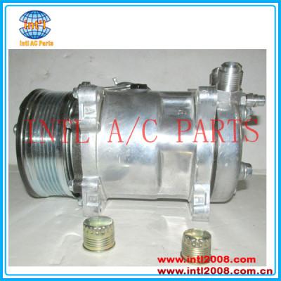universal ac compressor sanden para 508 sd508 sd5h14 9565 pv6 119mm flare