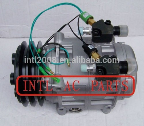 dks32 tm31 bus compressor de ar com válvula de controle compresseur compresor do ar acondicionado