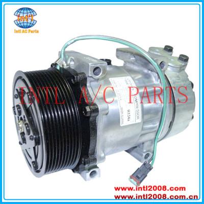 sanden 8295 8275 7275 sd7h15 pv10 compressor ac para euro5 scania caminhões diesel 1888032 1531196 18530814