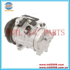 Denso 10S20C ac compressor for 2008-2010 Chrysler Town & Country 4.0L Dodge Grand Caravan 3.8L 3.3L 4.0 55111424AA RL111416AD