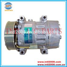 Sd7h15-8215 sanden compressor ac renault v. Eu/volvo v. I. Caminhões fe 2006- 85000723 20593523 5010628046