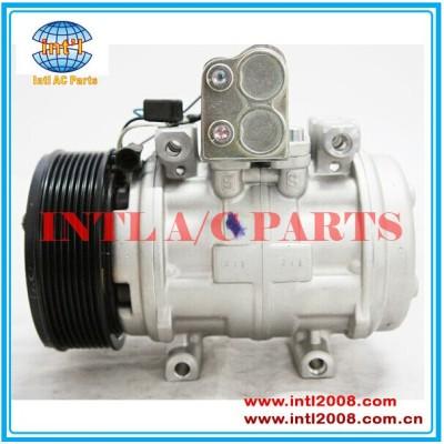 Auto a / c car ar condicionado Denso 10P15 / 10P15C para a John Deere 7500 trator 6415 ac compressor