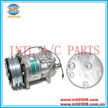 Universal AC COMPRESSOR Sanden 508 SD508 SD5H14 6630 4536 6676 132 mm 2A 12 V