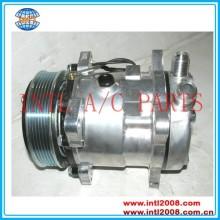 Sanden sd5h11 sd507 sd507 sd5s11 sanden 507 5h11 5s11 6pk auto um/compressor ac universal
