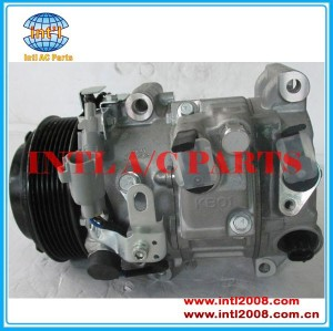 Denso 7sbh17c/7sbh17 compressor de auto para toyota sienna/venza/lexus es350 v6 3.5l 2006-2012 88320-08060 88320- 0t010 88320-28420