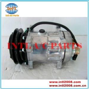 Sanden 7948 sd7h15 compressor ac para iveco eurotrakker/eurocarg/eurostar/eurotech 1991-2002