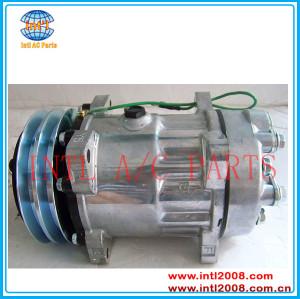 Sd7h15 sanden 8045 8243 6035 ac compressor para HD AG VOLVO / SAMSUNG Trucks 11412632 11104419 14506862 15082742 CO 8045C