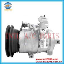 Denso 10s17c um/c compressor para mitsubishi pajero/shogun 2.5 td diesel 2000-2006 mr568285 447220-4033 4472204033 4472204031