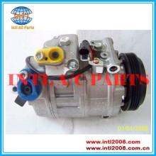 Denso 7seu17c auto um/compressor ac para bmw 5 e60 e61 e65 e66 n62 525 530 535 730 2011 64526917859 64509174802 64529175481-01