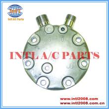 Jd sanden compressor cabeça traseiro sd7h15 vertical 8 e 10 o- ring com junta de metal tampa traseira