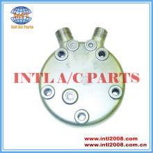 Fl sanden compressor cabeça traseiro sd508 sd5h09 sd5h14 vertical 8 e 10 o- ring inclui junta de metal tampa traseira
