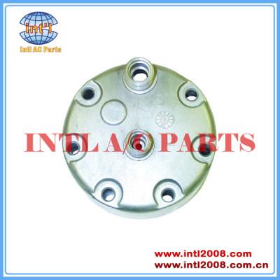 Sanden kc traseiro cabeça sd708 sd709 sd7h15 horizontal 8 e 10 o- ring compressor tampa traseira