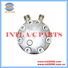 Fc sanden compressor sd7h15 tampa traseira vertical 8 e 10 o- ring cabeçote