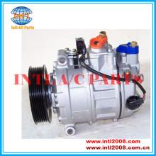 Ac auto compressor um/c para audi a4 3.0 v6 2000-2004 denso 7seu17c pv6 447180-8471 447180-8472 8e0260805aj 8e0260805bm