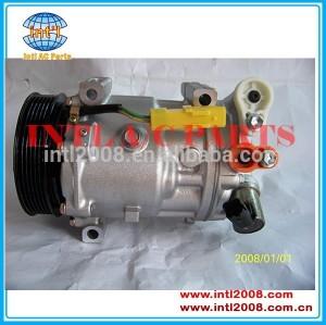 Ac auto sd7c16 peugeot 407 607 407sw citroen c5 um/c compressor 2004-2010 9656572680 9660555280 9660555380 sd7c16-1332f