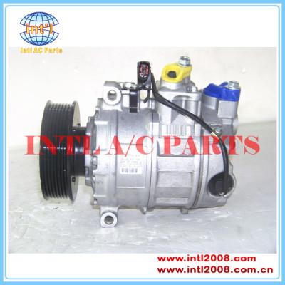 Denso 7seu16c um/c compressor para 2002-2010 q7 3.6/porsche 3.2i/vw passat 4.0/touare 6.0 4.2/phaeton 3b0820803b 7l6820803l