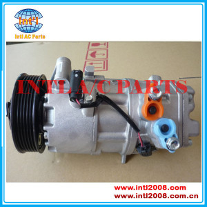 CSE613 -6 pk-114mm AC Compressor 64526915380-01 64526915380-06 64526915380-07 for BMW  E81 E82 E87 E88 E90 E91 E92  manufactory auto air conditioner