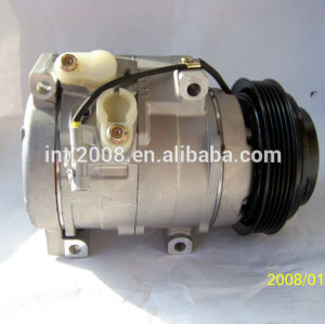 Denso 10s17c auto compressor da ca para toyota prado 120 série, 2002-2009 prado rzj120r 3rz-fe 9/02 447220-5190 88320- 6a170 883206a